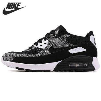 Original New Arrival 2017 NIKE AIR MAX 90 ULTRA 2.0 FLYKNIT Women's Running Shoes Sn