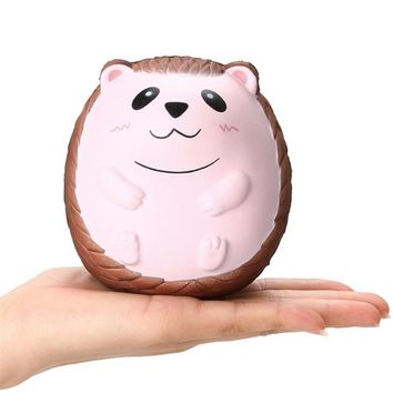2018NEW Squishy Cute Hedgehog Scented Charm Slow Rising Squeeze Stress Reliever Toy Kid Toys