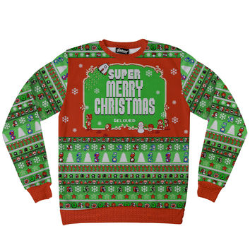 Super Merry Christmas Sweatshirt