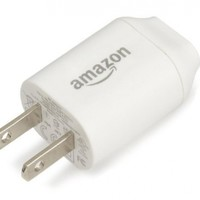 Amazon 5W USB Charger (also compatible with other android and iOS devices)