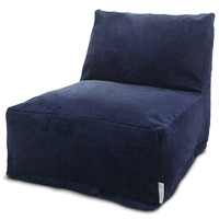 Villa Navy Bean Bag Chair Lounger