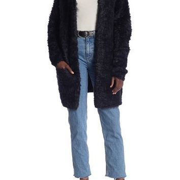 Free People | Faux Fur Longline Cardigan | Nordstrom Rack