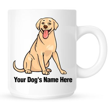 Personalized mug for your labrador