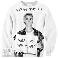 What Do You Mean Justin Bieber Sweater