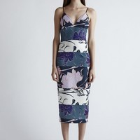 GALLERY COCKTAIL MIDI DRESS