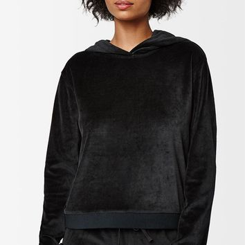 LA Hearts Velour Hoodie at PacSun.com