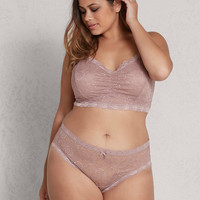 Ruched Lace Bralette