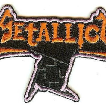 Metallica Iron-On Patch Ninja Star Logo