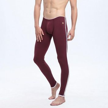 WJ mens cotton thermal underwear warm pants  long johns thickening  leggings 8 colors