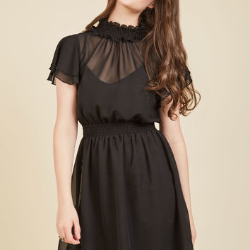 Bespeak Mystique A-Line Dress | Mod Retro Vintage Dresses | ModCloth.com