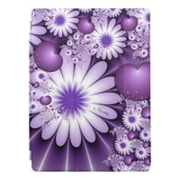 Falling in Love Abstract Flowers & Hearts Name iPad Pro Cover