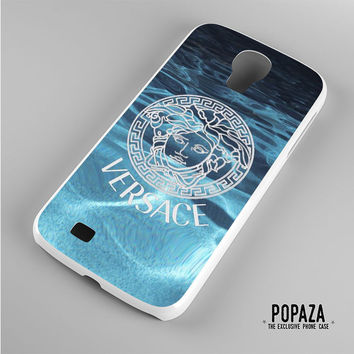 Versace logo on water Samsung Galaxy S4 Case