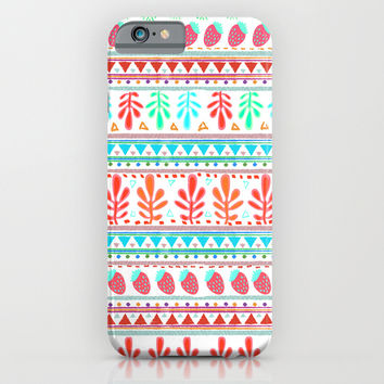 FRESAS DE PRIMAVERA iPhone & iPod Case by Nika