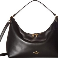 COACH Womens Pebbled Leather East/West Celeste Convertible Hobo
