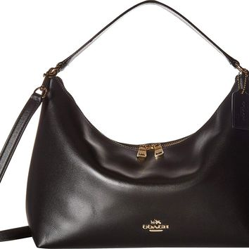 COACH Womens Pebbled Leather East West Celeste Convertible Hobo c1bb3b5685582
