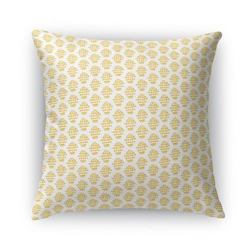 BUDDING FLOWER Accent Pillow By Heidi Miller