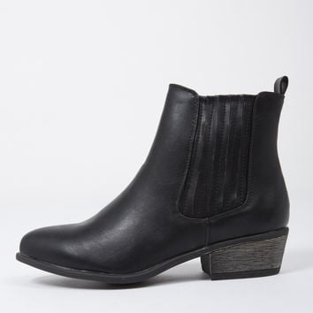 Western Gore Ankle Boots
