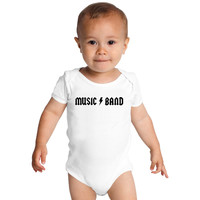 30 Rock - Music Band  Baby Onesuits