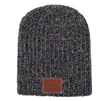 Black and White Speckled Beanie - Love Your Melon
