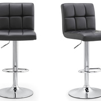 M36 Padded Bar Stool, Set Of Two (Color Options)