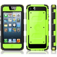 i-Blason Cell Phone Case for iPhone 5C - Retail Packaging - Green