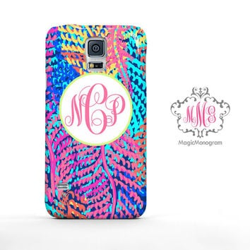 Electric Feels Lilly Pulitzer Monogram Samsung Galaxy S6 Case, Galaxy Note 4 Case