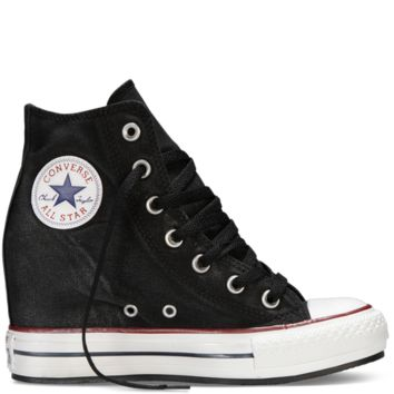 Converse - Chuck Taylor All Star Platform Plus Sparkle - Black - Hi