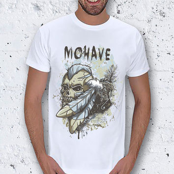 Mohave Skull Figure Men T-Shirt / Special Production (Limited Edition)