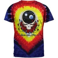 Grateful Dead Men's Space Your Face Tie Dye T-shirt Multi - Walmart.com