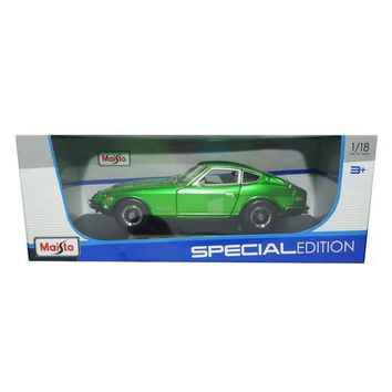 1971 Datsun 240z Green 1/18 Diecast Model Car by Maisto