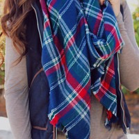 Through the Valley Blanket Scarf