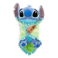 Disney's Babies Stitch Plush with Blanket - Small - 10''