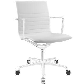 Vi Mid Back Vinyl Office Chair