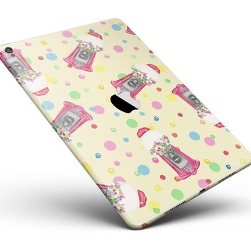 "The Fun Colorful Gumball Machine Pattern Full Body Skin for the iPad Pro (12.9"" or 9.7"" available)"