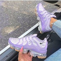 Nike Air Vapormax Plus Women Fashion Air Cushion Sport Running Shoes Sneakers Purple