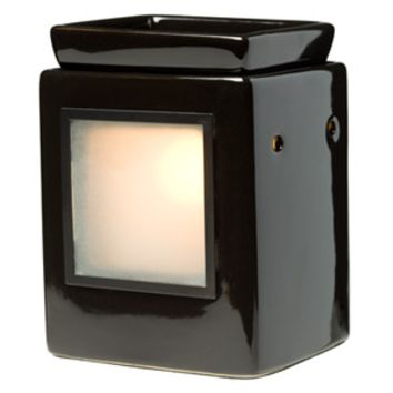 Cube Ebony Scentsy Gallery Warmer (Without Frame)