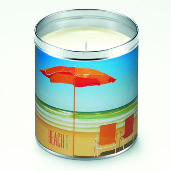 Beach Chairs Scented Candle