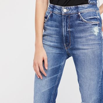 Free People The Dazzler Shift Skinnies