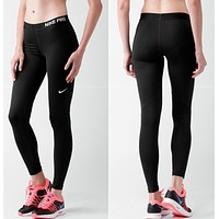 "Hot Sale ""NIKE"" Popular Women Breathable Print Sport Running Pants Trousers Sweatpants I12326-21"