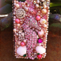 Beautiful, unique blinged out iPhone 4/4s cover