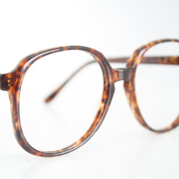 Vintage Eyeglasses Foremost Tortoise Unused New Old Stock 1980s Retro Eyeglass Frames
