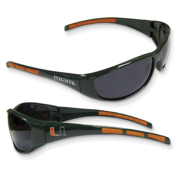 Collegiate Miami Wrap Sunglasses