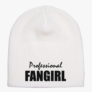 Professional Fangirl Knit Beanie