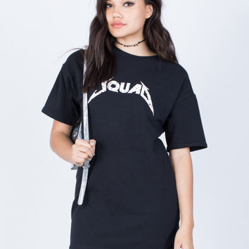 Squad Goals Tee Dress