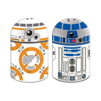 Star Wars BB-8 and R2D2 Sculpted Salt and Pepper Set