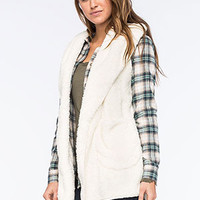 OTHERS FOLLOW Night Out Womens Plush Vest | Vests