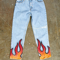 Repurposed Levis Flame Pant