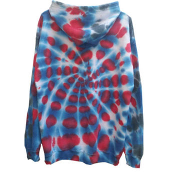 SALE Spider-man Marvel Sweatshirt Hoodie Adult Size Large Womens Mens Teen Gift For Him Gift For Her Tie Dye Gym Zip-Up Hooded Sweater,
