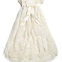 Dolce & Gabbana - Infant's Lace Baptism Dress - Saks Fifth Avenue Mobile