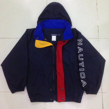 Nautica jacket / windbreaker / sweater / hooded / rain jacket kids size